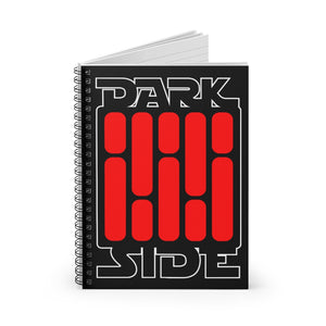 DARK SIDe | Spiral Notebook - Ruled Line