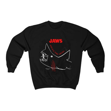 JAWs - The whole damn thing! - Unisex Crewneck Sweatshirt
