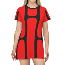 Load image into Gallery viewer, DARK SIDe | Women's All-Over Print T-Shirt Dress