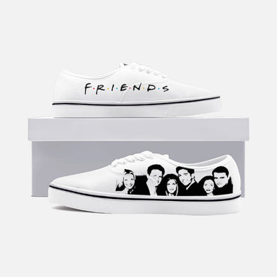 FRIENDs - Unisex Canvas Shoes Fashion Low Cut Loafer Sneakers