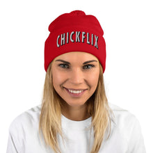 Load image into Gallery viewer, CHICKFLIx | Pom-Pom Beanie
