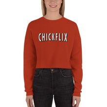 Load image into Gallery viewer, CHICKFLIx | Women's Crop Sweatshirt
