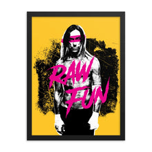 Load image into Gallery viewer, RAW Fun | Framed Poster