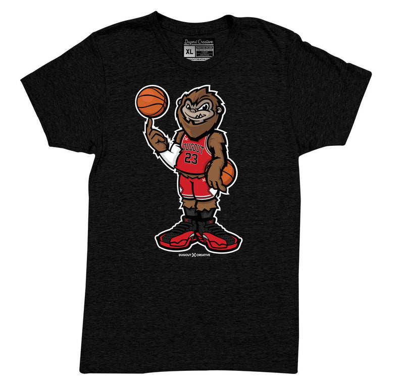 Chicago Black Squatch Tee