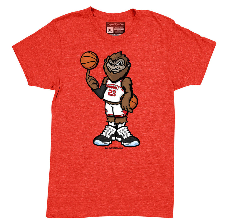 Chicago Red Squatch Tee