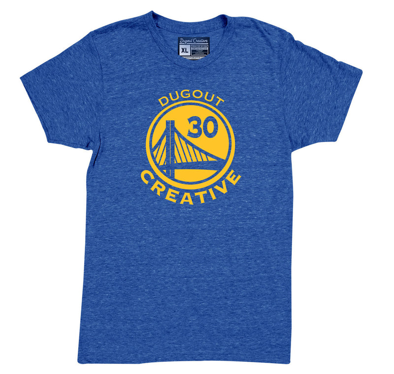 Golden State Blue Tee