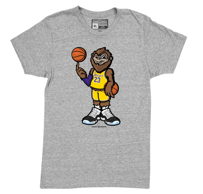 Los Angeles Gold Squatch Tee