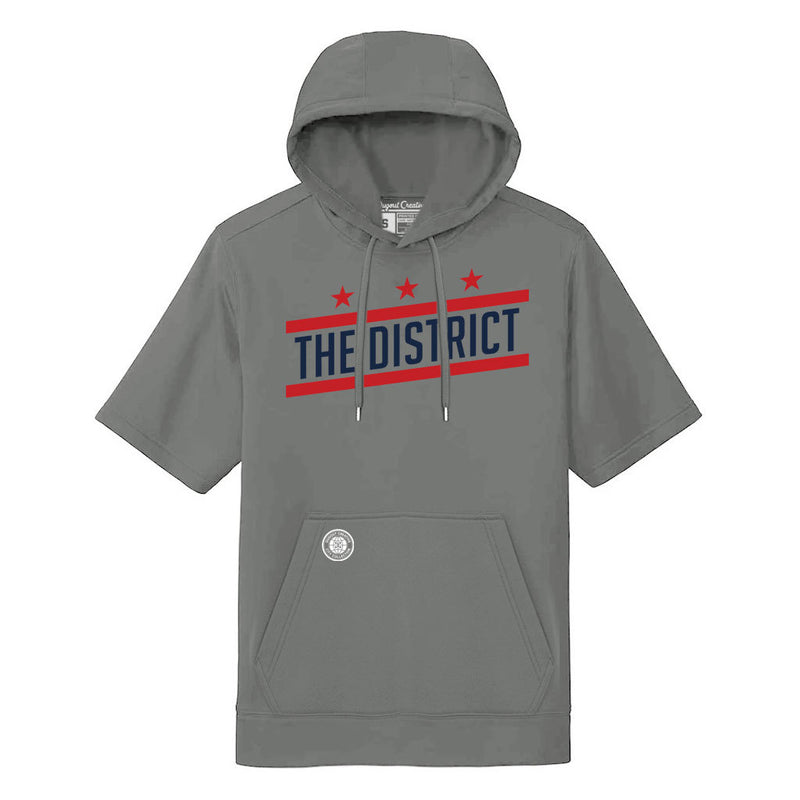 The District Short Sleeve Hoodie