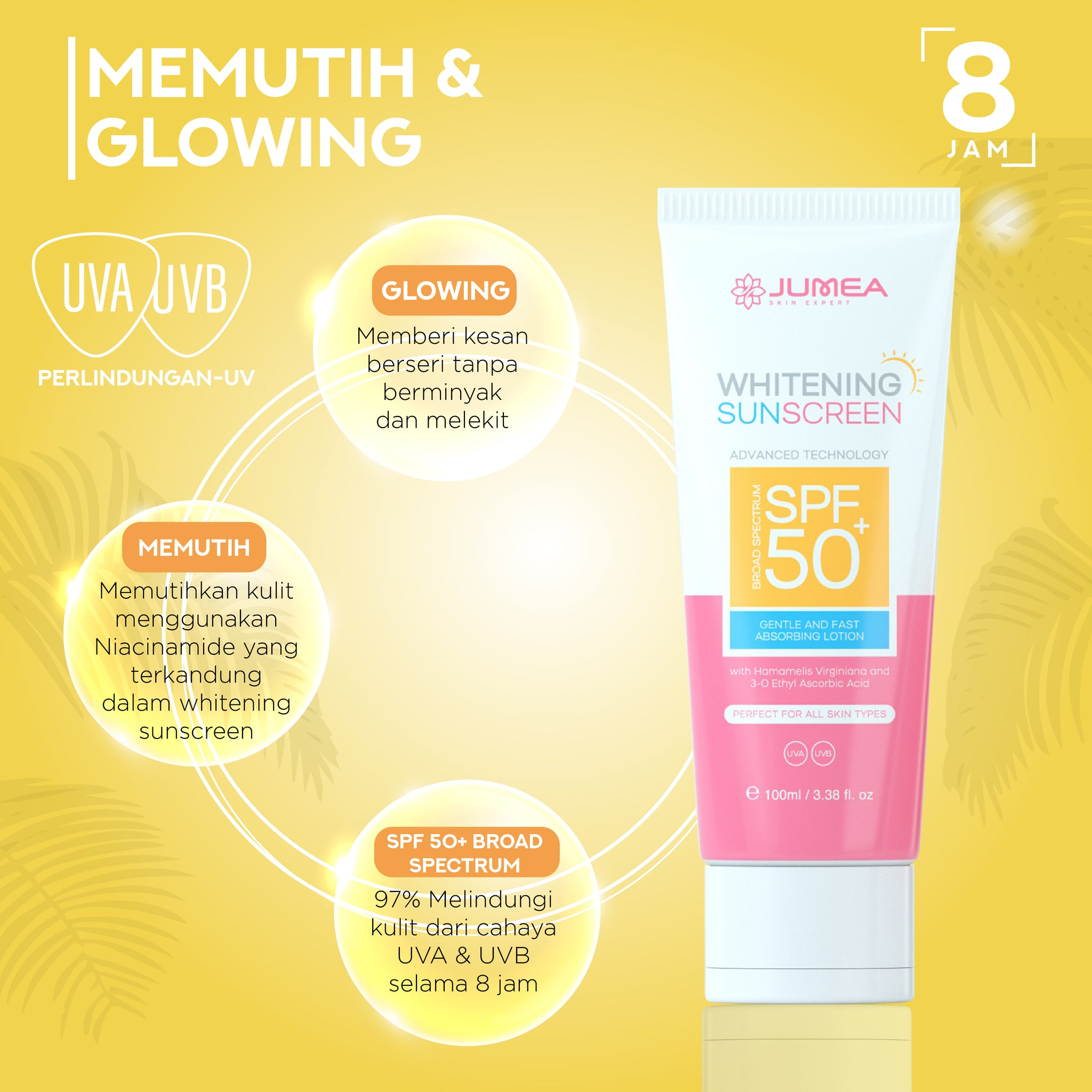 JUMEA Whitening Sunscreen