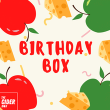 Load image into Gallery viewer, The Birthday Cider Box