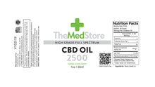 Load image into Gallery viewer, CBD Oil - 2500