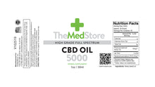 Load image into Gallery viewer, CBD Oil - 5000