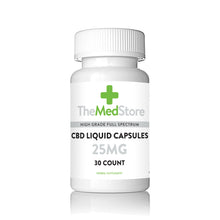 Load image into Gallery viewer, CBD Liquid Capsules - 25mg