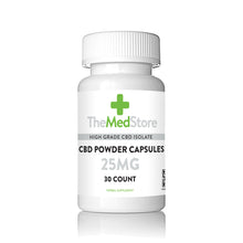Load image into Gallery viewer, CBD Powder Capsules - 25mg