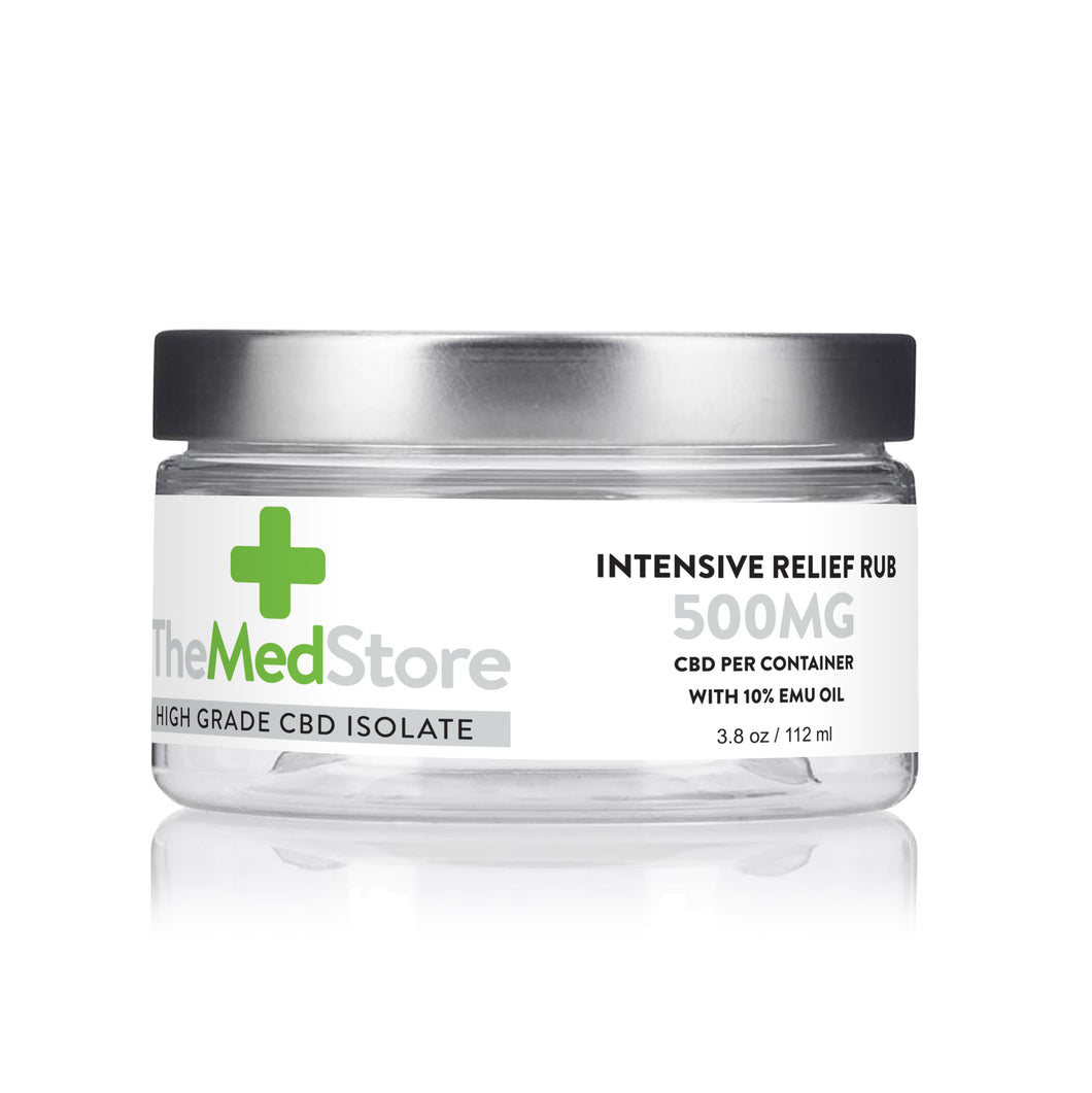 CBD Intensive Relief Rub - 500mg