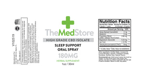 CBD Sleep Support Oral Spray