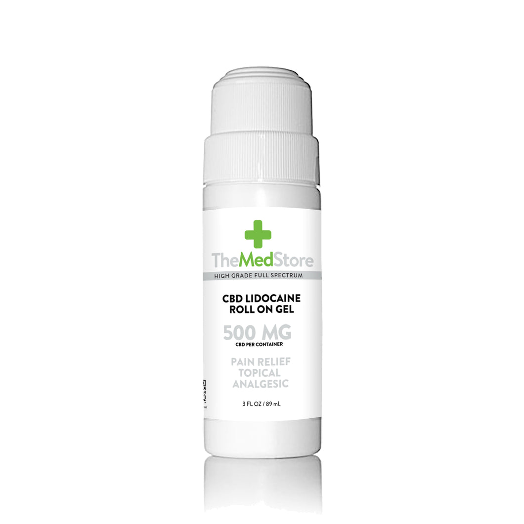 CBD Roll-On Gel with Lidocaine