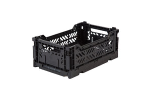 CAJA PLEGABLE MINI AY-KASA - NEGRO