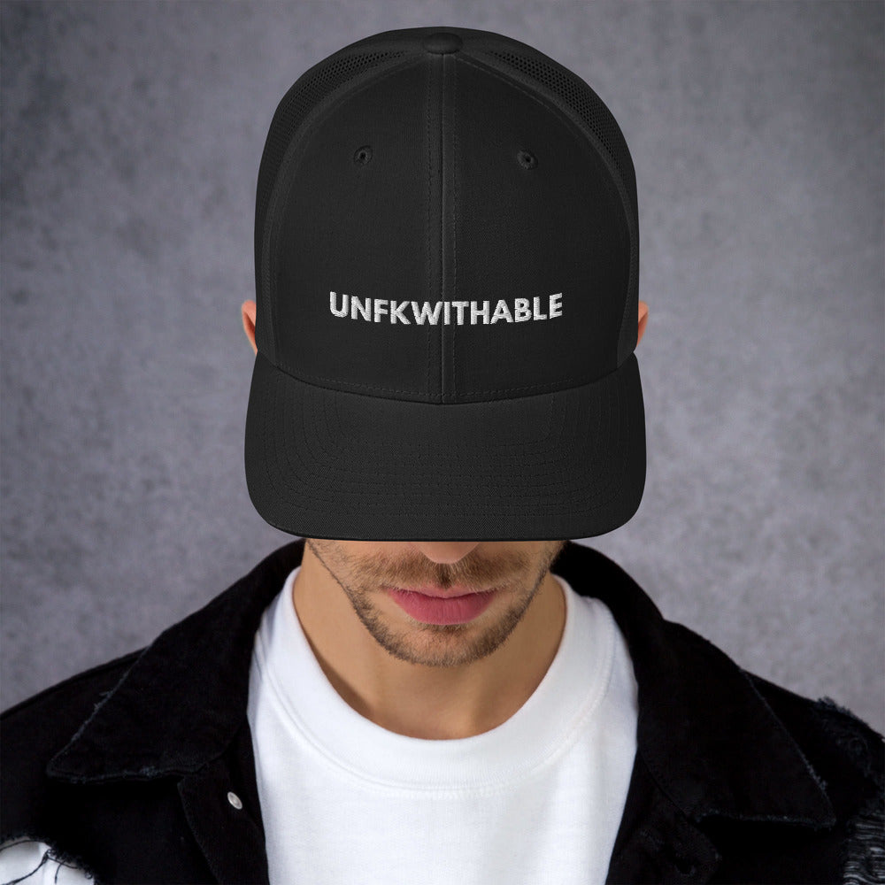 UNFKWITHABLE | Trucker Cap