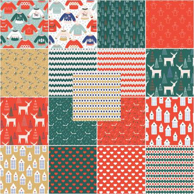 The Tiny Garden 17pc Fat Quarter Bundle