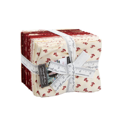 Redwork Gatherings - Fat Quarter Bundle by Primitive Gatherings - 30 pcs