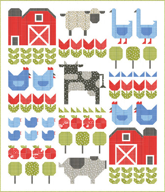 On the Farm Quilt Kit