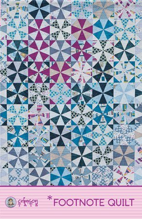 *Footnote Quilt - Printed Pattern