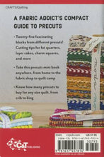 Load image into Gallery viewer, Quilting with Precuts Handy Pocket Guide