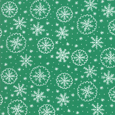 Deck the Halls - Green - Fabric by the Yard