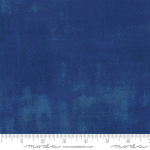 Grunge Basics Cobalt - Fabric by the Yard