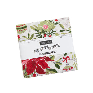 "Naughty or Nice - Charm Pack 5"" - 42pcs"