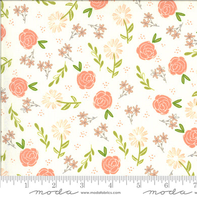 Balboa Wild Rose Ivory 37591 11 - Fabric by the Yard