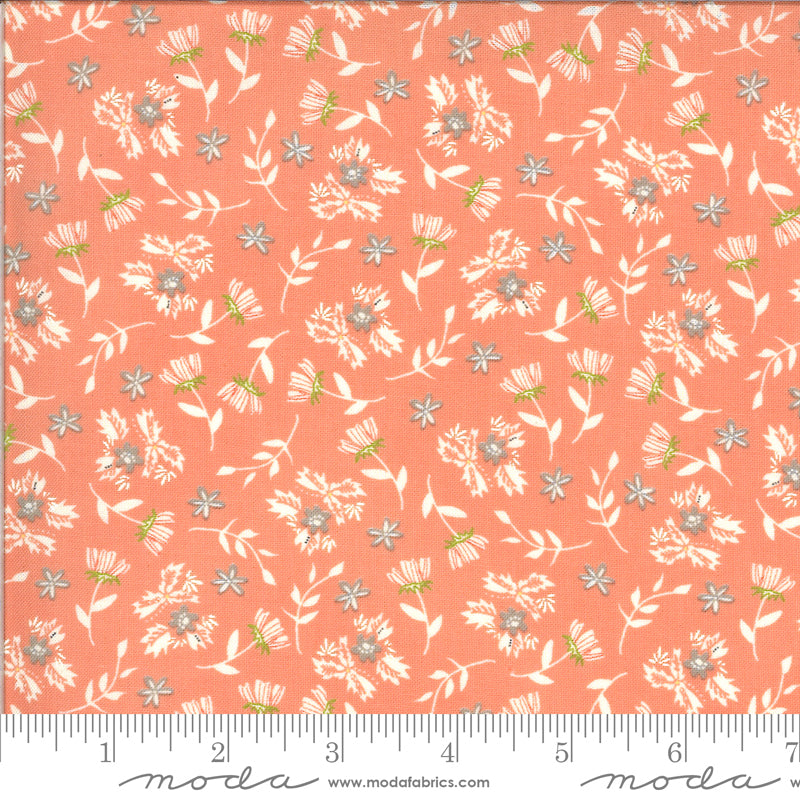 Balboa Primrose Coral 37593 14 - Fabric by the Yard