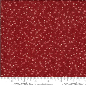 Redwork Gatherings - Red 49112 13 - Fabric by the Yard