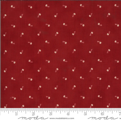 Redwork Gatherings - Red 49113 14 - Fabric by the Yard