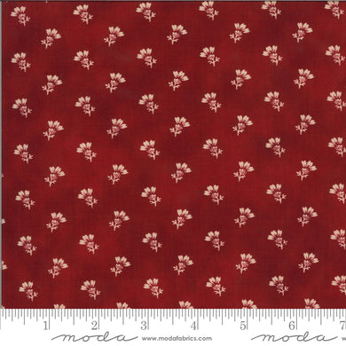 Redwork Gatherings - Red 49114 14 - Fabric by the Yard