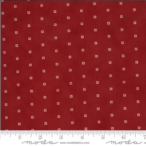 Redwork Gatherings - Red 49115 13 - Fabric by the Yard