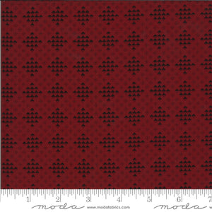 Redwork Gatherings - Dark Red 49116 16 - Fabric by the Yard