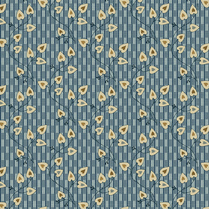 Blue Sky - Sweetheart- Azura  A-8507-B - Fabric by the Yard