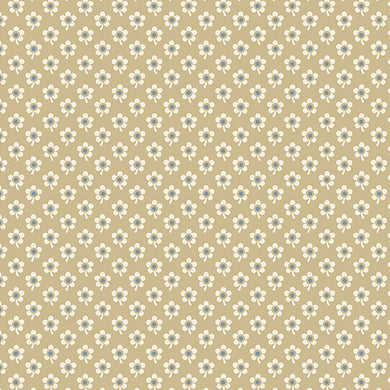 Blue Sky - Daisy - Twlight  A-8510-N - Fabric by the Yard