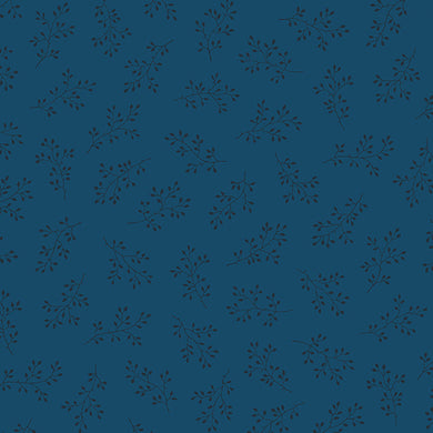 Blue Sky - Windswept - Cadet  A-8511-B - Fabric by the Yard
