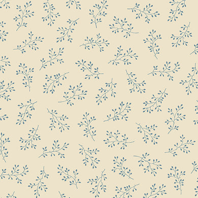 Blue Sky - Olive Branch - Mountain Top  A-8511-L - Fabric by the Yard