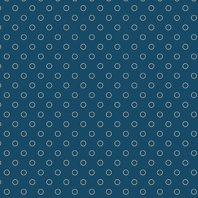 Blue Sky - Bubbles - Full Moon    A-8515-B - Fabric by the Yard