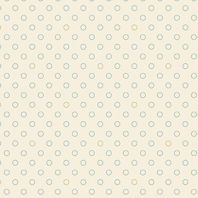 Blue Sky - Bubbles - Cirrus  A-8515-L - Fabric by the Yard