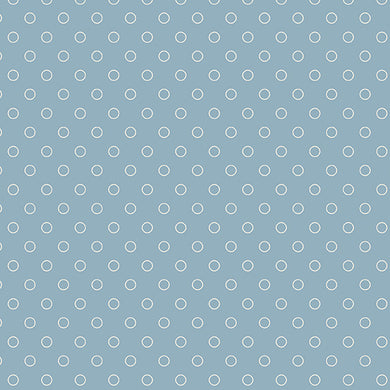 Blue Sky - Bubbles - Baltic  A-8515-W - Fabric by the Yard