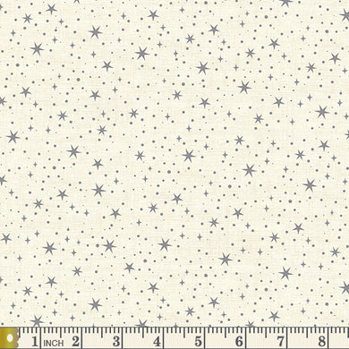 Scandi 2020 -  Stars - Grey - by Makower UK - Fabric by the Yard