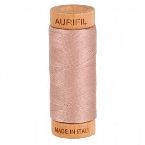 Mako Cotton Thread Solid 80wt 300yds Antique Blush
