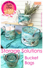 Load image into Gallery viewer, Storage Solutions Bucket Bags - Printed Pattern