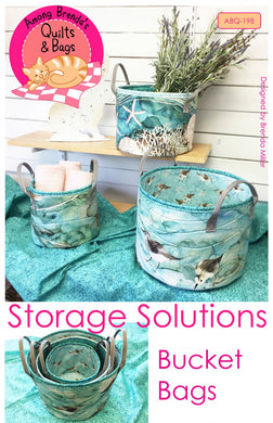 Storage Solutions Bucket Bags - Printed Pattern
