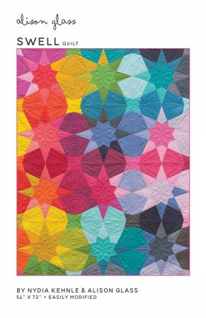Swell Quilt by Alison Glass and Nydia Kehnle - Printed Pattern